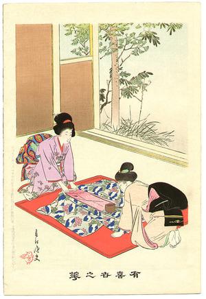 宮川春汀: Ironing - Yukiyo no Hana - Artelino