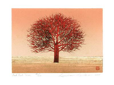 Kaneko Kunio: Red Red Tree - Artelino