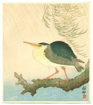 小原古邨: Heron in the Storm - Artelino