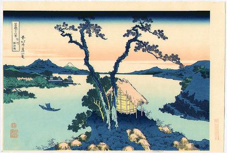 葛飾北斎: Lake Suwa - Fugaku Sanju-rokkei - Artelino
