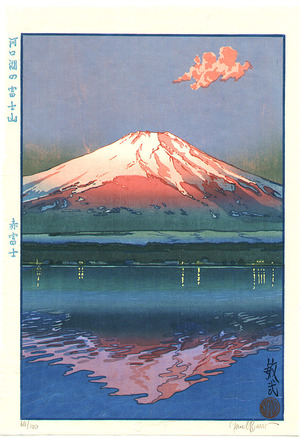Paul Binnie: Mt.Fuji and Lake Kawaguchi - Red Fuji - Artelino