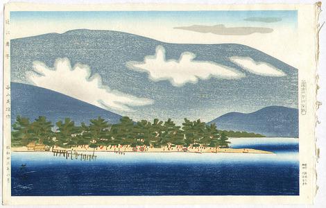 Hagiwara Hideo: Maiko Beach In Ohmi - Artelino
