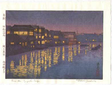 吉田遠志: Ryogoku Bridge - Artelino