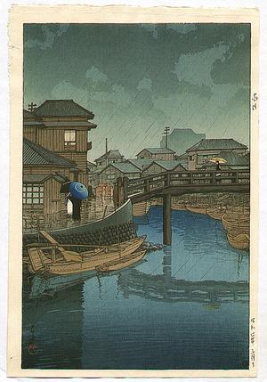 川瀬巴水: Shinagawa - Artelino