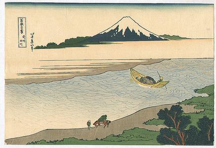 Katsushika Hokusai: Tama River - Fugaku Sanju-rokkei - Artelino