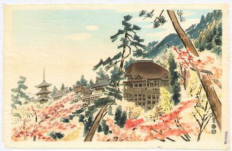 Kotozuka Eiichi: Kiyomizu Temple - Artelino