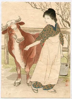 武内桂舟: Cow Girl - Artelino
