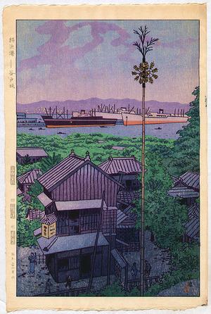 Kasamatsu Shiro: Yokohama Harbor - Artelino