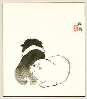 Kono Bairei: Puppies - Artelino