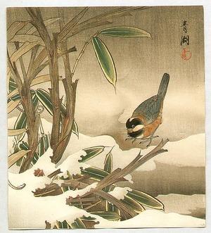 無款: Bunting and Bamboo - Artelino