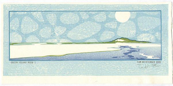 Tom Kristensen: Green Island Moon 1 - Artelino