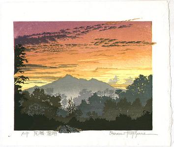 両角修: Sunrise in Oze Field - Japan - Artelino
