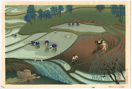 Ono Bakufu: Working in Rice Fields - Artelino