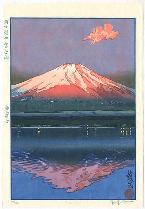 Paul Binnie: Mt.Fuji and Lake Kawaguchi - Red Fuji - Artelino