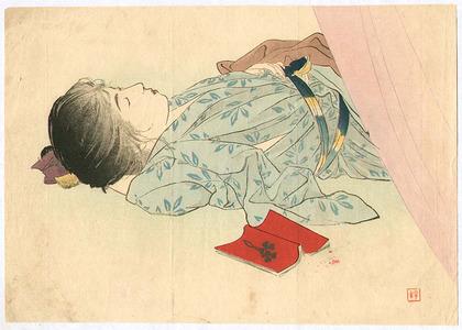 梶田半古: Sleeping Beauty - Artelino