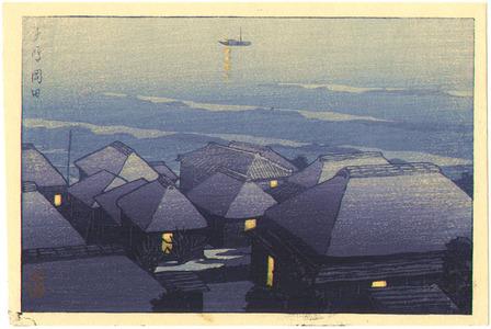 Kawase Hasui: Okada in the Evening - Artelino