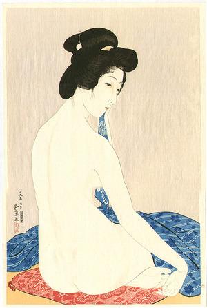 橋口五葉: Woman after a Bath - Artelino