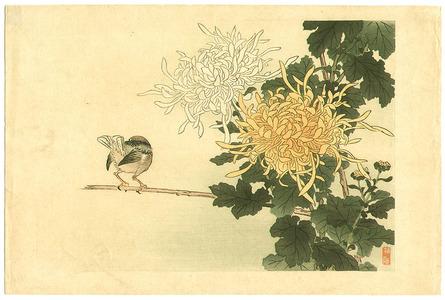 幸野楳嶺: Bird and Flowers - Artelino