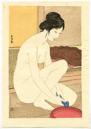 Hashiguchi Goyo: Bathing - Artelino