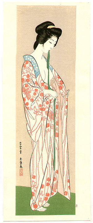 Hashiguchi Goyo: Beauty after Bath - Artelino