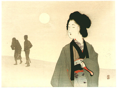 Tomioka Eisen: Silhouette - Artelino
