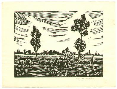 北岡文雄: Landscape - Artelino
