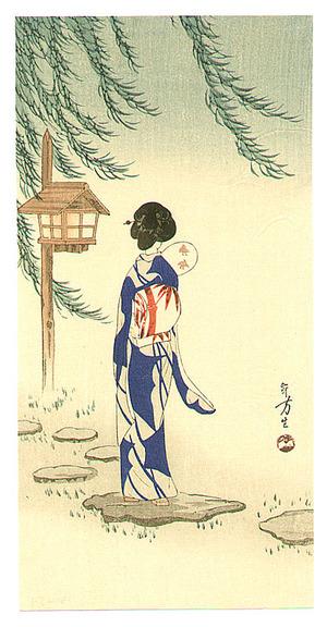 Mizuno Toshikata: Summer Wind - Artelino