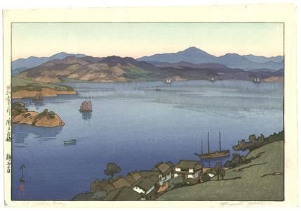Yoshida Hiroshi: A Calm Day - Inland Sea - Artelino
