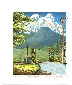 Morozumi Osamu: Midsummer at Azumino Village - Japan - Artelino
