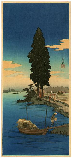 Takahashi Hiroaki: Water God at Katsushika - Artelino