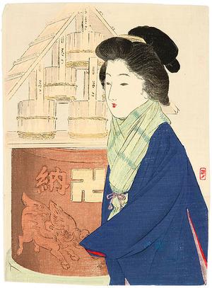Takeuchi Keishu: Lady in Winter - Artelino