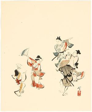 Unknown: Dancing at Festival - Artelino