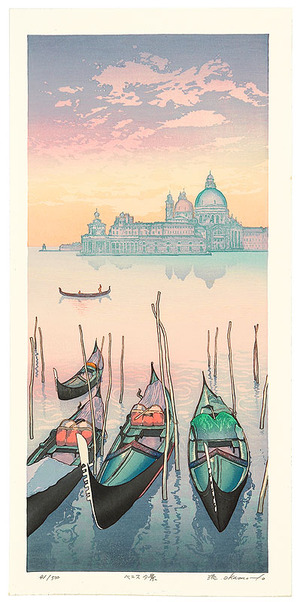 Okamoto Ryusei: Venice (evening) - Artelino