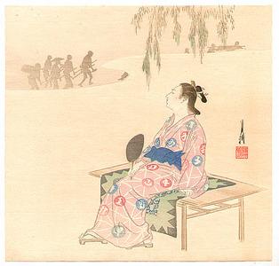 Ogata Gekko: Evening Cool - Artelino