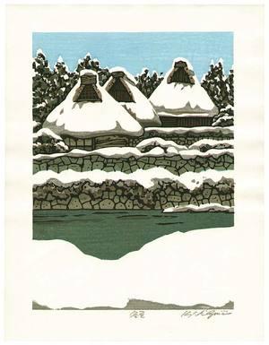 Nishijima Katsuyuki: Village in Winter - Artelino