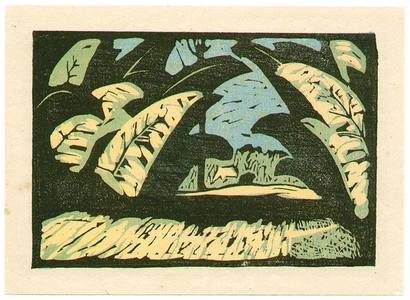 Okamoto Kiichi: Landscape - Artelino