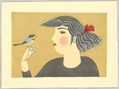 前川千帆: Bird and Girl - Artelino