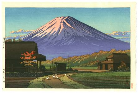 川瀬巴水: Autumn in Funatsu - Artelino