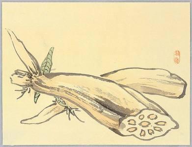 Kono Bairei: Lotus Roots - Artelino