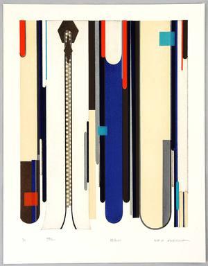 Kusaka Kenji: Zippers No.2 - Artelino