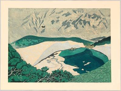 北岡文雄: Mountain Lake - Artelino