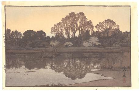 吉田博: Yoshi River - Artelino