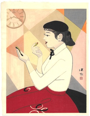 Ito Shinsui: Clock and Beauty IV - Artelino