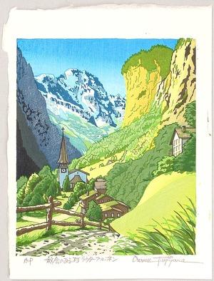 両角修: A Church in a Village - Switzerland - Artelino