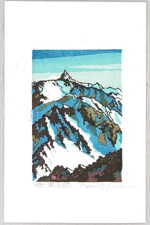両角修: Mt. Yari in Early Spring - Japan - Artelino