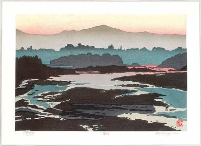 Nishijima Katsuyuki: Lake in the Evening - Artelino