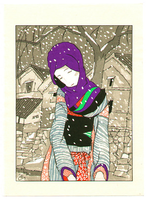 Takehisa Yumeji: Snowy Night Legend - Artelino
