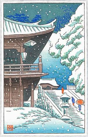 Fujishima Takeji: Todai-ji Temple - Artelino