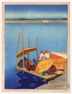 Bartlett William Charles: Benares - India - Artelino