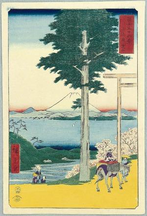 Utagawa Hiroshige: Mt. Rokuso - Thirty-six Views of Mt.Fuji - Artelino
